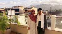 Ma'ruf Amin hari ini merayakan ulang tahunnya yang ke-76 saat dirinya sedang safari politik ke Sumatera Utara. (Liputan6.com/Putru Merta)