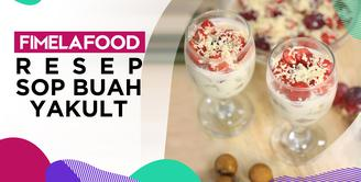 Fimela Food: Resep Buka Puasa Super Segar Sop Buah Yakult