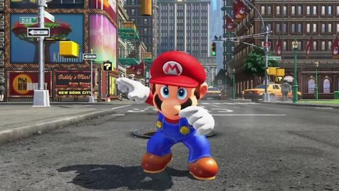 Super Mario Odyssey, gim terbaru Nintendo untuk Switch. (Sumber: Nintendo)