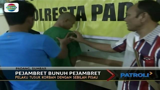 Residivis jambret di Padang, Sumatera Barat, bunuh seorang pria yang juga jambret, karena korban diduga telah menjambret keluarga pelaku.
