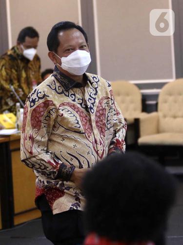 FOTO: Mendagri dan Pansus DPR Bahas RUU Otonomi Khusus Provinsi Papua