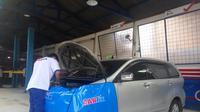 Carfix Raya Magelang di Yogyakarta merupakan bengkel mobil berbasis digital yang mempermudah pelanggan (Liputan6.com/ Switzy Sabandar)