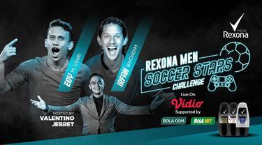 Berita video mari kita bandingkan selebrasi Egy Maulana Vikri dengan Irfan Bachdim di Rexona Men Soccer Stars Challenge