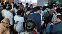 Puluhan nasabah beramai-ramai menuntut pengembalian dana yang disetorkan ke Koperasi Simpan Pinjam (KSP) Indosurya Cipta. Permasalahan ini pun telah sampai ke tahap pencocokan piutang yang digelar di Pengadilan Niaga Jakarta Pusat, Jumat (19/6/2020). (Ady Anugrahadi/Liputan6.com)