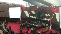 Ketua MA Hatta Ali melantik tiga pimpinan baru MPR.