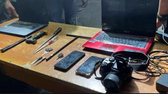 Petualangan Penjahat Kumatan Terhenti karena Rekaman CCTV di Tomohon