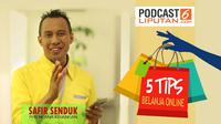 Podcast 5 Tips Belanja Online.