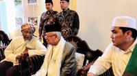 Calon Wakil Presiden Ma'ruf Amin saat berkampanye di Lombok, NTB. (Liputan6.com/Putu Merta Surya Putra)