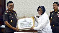 Kejaksaan Tinggi Jatim bantu Pemerintah Kota Surabaya untuk selamatkan aset lahan di Karangpilang, Surabaya, Jawa Timur. (Foto: Liputan6.com/Dian Kurniawan)