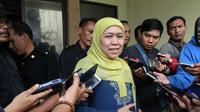 Bakal Cagub Jatim Khofifah Indar Parawansa. (Liputan6.com/Dian Kurniawan)