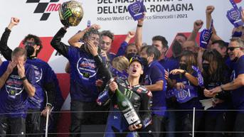 FOTO: Fabio Quartararo Pastikan Titel Juara Dunia MotoGP 2021