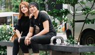 Wina Natalia menikah dengan pria yang bernama lengkap Erdian Aji Prihartanto atau akrab disapa Anji pada 13 Juli 2012 setelah bercerai dengan Wishnutama. (Liputan6.com/IG/@winatalia)