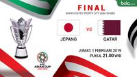 Piala Asia 2019: Jepang Vs Qatar (Bola.com/Adreanus Titus)