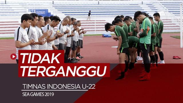 Berita video Wakil Ketua Umum PSSI, Cucu Sumantri, mengungkapkan cara federasi agar skuat Timnas Indonesia U-22 tidak terganggu dengan faktor-faktor nonteknis yang terjadi di SEA Games 2019.
