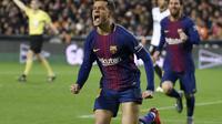 Coutinho makin kenal dengan gaya permainan Barcelona (JOSE JORDAN / AFP)