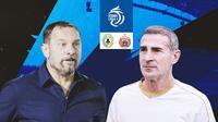 BRI Liga 1 - Duel Pelatih - PSS Sleman Vs Persija Jakarta (Bola.com/Adreanus Titus)