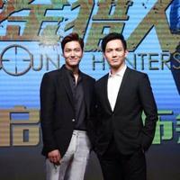 Lee Min Ho menghadiri pers konferensi film 'Bounty Hunters' di Shanghai, Minggu (14/6).  Foto: Starhaus Entertainment/Bintang.com