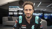 Andrea Dovizioso memperkuat Petronas Yamaha SRT mulai MotoGP San Marino, akhir pekan ini. (Twitter/Petronas Yamaha SRT)