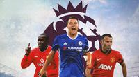 Premier League - Dwight Yorke, John Terry, Ryan Giggs (Bola.com/Adreanus Titus)