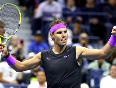 Kalahkan Petenis Italia, Rafael Nadal Tembus Final AS Terbuka