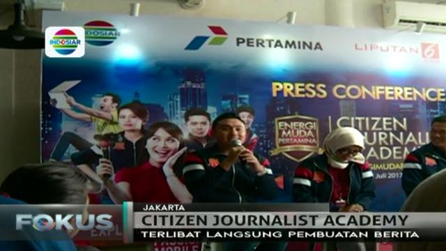 Citizen Journalist Academy Ajang Lomba Penulisan Jurnalis News