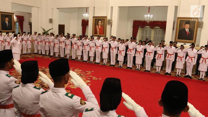 Presiden Bakal Kukuhkan Paskibraka Provinsi Tahun Ini via Daring