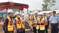 Menteri BUMN di Bandara Jenderal Besar Soedirman, Purbalingga (dok: KBUMN)