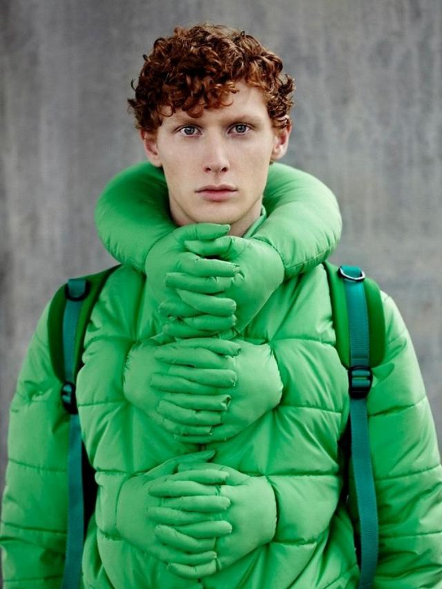 Outfit aneh dan unik (Foto: Si Chan/elitereaders)