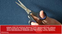 8 Fakta Kebiri Kimia (Design by Muhammad Iqbal Nurfajri/Bintang.com)