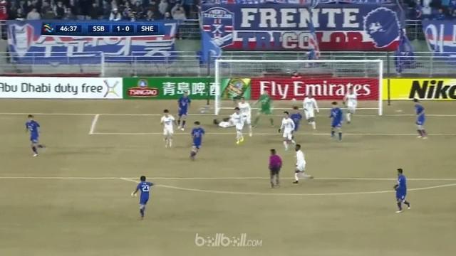 Wakil Korea Selatan, Suwon Bluewings menahan imbang tuan rumah Shanghai Shenhua 1-1 di laga ketiga Grup H Liga Champions Asia. Tua...