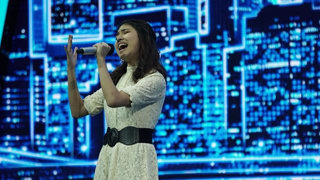 Melisha Sidabutar atau dikenal dengan sebutan Melisha Idol (https://www.instagram.com/p/CIi5R5SpPbl/)