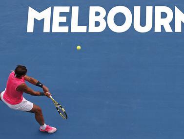 Bungkam Nick Kyrgios, Rafael Nadal Lolos ke Perempat Final Australia Terbuka