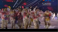 Volunteer Asian Games 2018 di closing ceremony