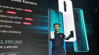 Country Director Xiaomi Indonesia Alvin Tse saat peluncuran Redmi Note 8 di Jakarta. Liputan6.com/Agustinus Mario Damar