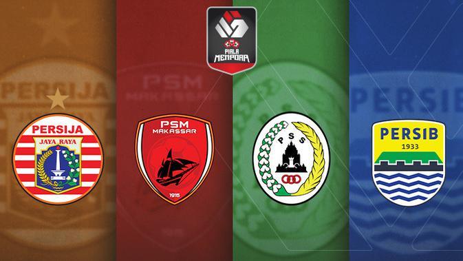 Jadwal Semifinal Piala Menpora di Indosiar dan Vidio: PSM, Persija, Persib,  dan PSS Berebut 2 Tiket Puncak - Indonesia Bola.com