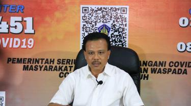 Ketua Satgas Penanggulangan COVID-19 Provinsi Bali Dewa Made Indra