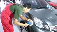 Coating bodi mobil berbasis air