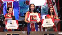 Maya Maureen dinobatkan sebagai Miss Telkomsel IIMS 2019. (SIS)