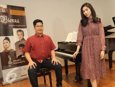 Isyana dan Jonathan Kuo Bakal Gelar Duet Konser Musik Klasik