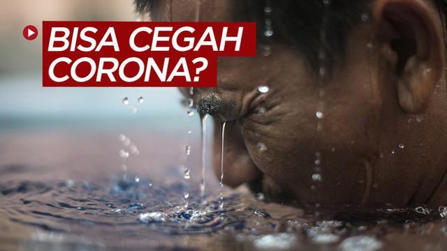 Berita video fakta di balik rumor mandi air panas bisa mencegah virus corona COVID-19 menurut situs covid19.go.id dan WHO.