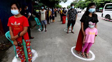 Tes Kesehatan dan Pelacakan Kontak di Myanmar