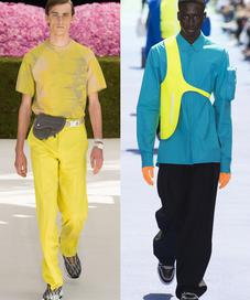 Dior Homme by Kim Jones and Louis Vuitton by Virgil Abloh - Photo: Vogue