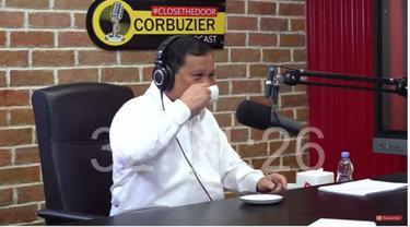 Prabowo Subianto Ungkap Kebiasaannya Minum Kopi dan Rasa Unik Kopi Hambalang