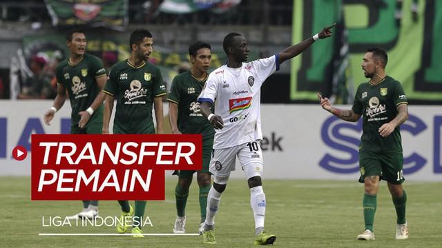 Berita video update transfer pemain Liga 1 Indonesia pekan ini, salah satunya Makan Konate yang direkrut oleh Persebaya Surabaya.