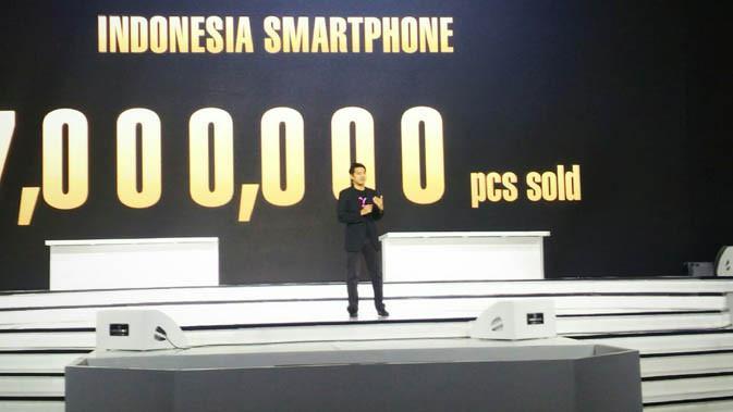Benjamin Yeh, Direktur Asus Regional Asia Tenggara saat acara peluncuran Zenfone Live dan Zoom S di Jakarta. Liputan6.com/ Mochamad Wahyu Hidayat