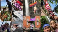 Foto-foto keluarga David Beckham saat berlibut di Bali. (Instagram)
