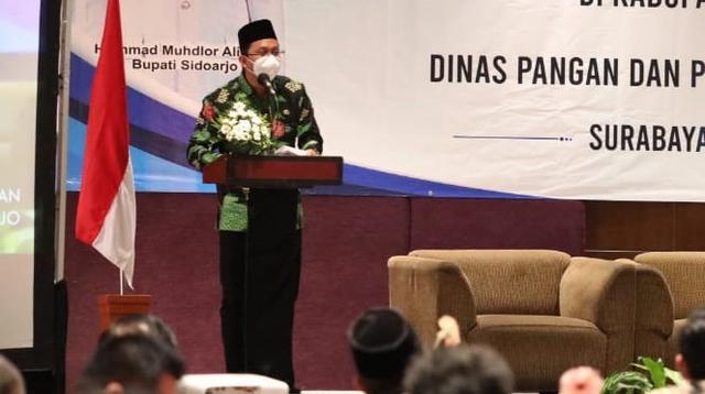 Bupati Sidoarjo Ahmad Muhdlor Ali (Dian Kurniawan/Liputan6.com)