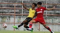 Uji coba antara Persipura Jayapura melawan Putra Safin Grup (PSG) Pati di Stadion Gelora 10 November, Tambaksari, Surabaya, Minggu (2/5/2021). (Dok PSG Pati)