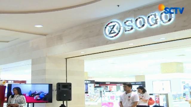 Dari aksi sosial ini, Sogo memperoleh rekor terbaru dari Museum Rekor Indonesia sebagai donor darah secara serentak di Departement Store terbanyak.