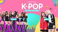 Simak selengkapnya Bintang K-Pop Hits of the Week seperti berikut ini. (Foto: arianamoya.deviantart, id.pinterest, Desain: Nurman Abdul Hakim/Bintang.com)